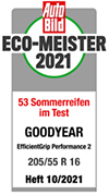 Testlabel Auto Bild 2021 - EfficientGrip Performance 2